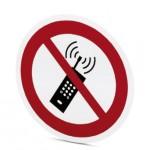Étiq Tel portable interdit ref. 1014208 Phoenix