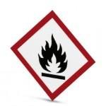 Étiquette symboleInflammable ref. 1014272 Phoenix