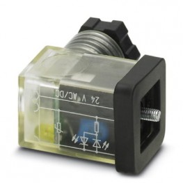 Connecteur électrovanne CI ref. 1452301 Phoenix
