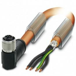 Câble 3P+PE blindé Lg 1,5m ref. 1424100 Phoenix