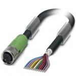 Câble M12 blindé 12P Lg 3m ref. 1430132 Phoenix