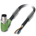 Câble M12 SAC 4P blindé Lg 10m ref. 1500703 Phoenix