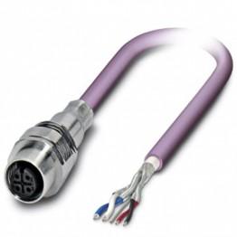 Connect fem 2P M12 câble 1m ref. 1525681 Phoenix