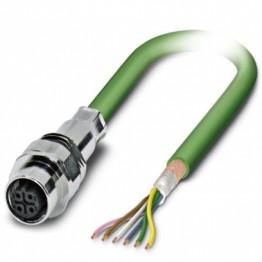 Connect fem 5P M12 câble 1m ref. 1529755 Phoenix