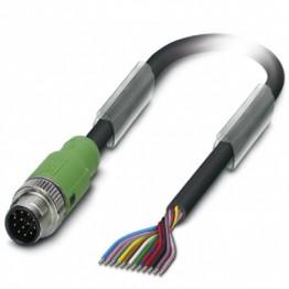 Câble SAC PVC M12 12P Lg 10m ref. 1554801 Phoenix