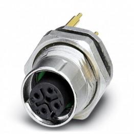 Connecteur femelle 4pôles M12 ref. 1558522 Phoenix