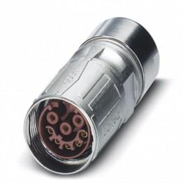 Connecteur femelle droit M17 ref. 1613372 Phoenix
