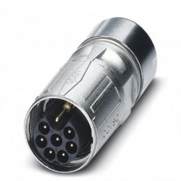 Connecteur mâle à câble droit ref. 1618640 Phoenix