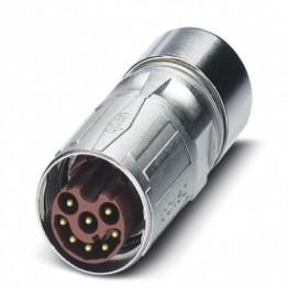 Connecteur mâle droit M17 ref. 1618641 Phoenix