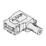 Boitier 1 circuit Faston 250 ref. 1-480298-0 TE Connectivity