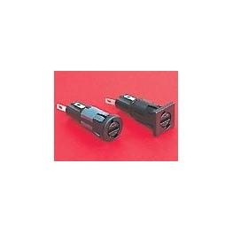 Porte-fusible 5x20mm 10A 250V ref. FX0367/1 Elektron Technology