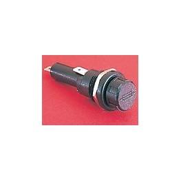 Porte-fusible 6.3x25 13A 250V ref. FX0416/S Elektron Technology
