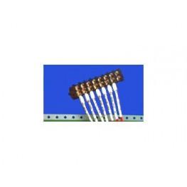 Manchon de repérage blanc ref. HT-SCE-1K-3/8-S3-9 TE Connectivity