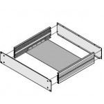 Plaque de montage chassis ref. 20860108 Schroff