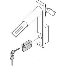Cylindrique de sureté DIN ref. 25127995 Schroff