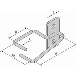 Anneaux guide-câbles ref. 21236102 Schroff