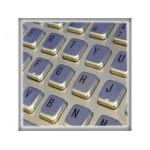 Clavier 5 lignes - 392x110mm ref. KBB01004 EOZ