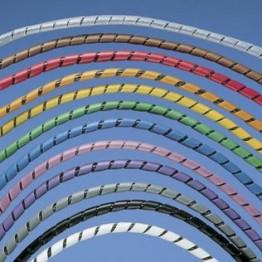 Bande spiralée diamètre 12.7mm ref. T50FR-TLY Panduit
