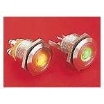 BP lumineux vert diam 22mm ref. MPI001/28/GN Elektron Technology