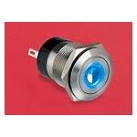 BP lumineux bleu diam 22mm ref. MPI001/FL/BL Elektron Technology