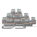 Borne à diode à 3 étages ref. 870-590/281-410 Wago