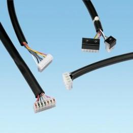 Gaine PVC noire AWG 6 ref. TV105-6M20Y Panduit