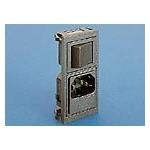 Prise IEC verticale feuille F ref. BZV45/Z0000/02 Elektron Technology