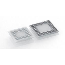 Support BGA pas 1,27mm 420 pts ref. 550-10-420M26-001166 Préci-Dip
