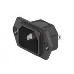 Prise d'appareil 10A 250V IP40 ref. 6100-3200 Schurter