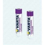 Pile Lithium AAA (blister x4) ref. 6103 Varta
