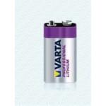 Pile Lithium 9V (blister x1) ref. 6122 Varta