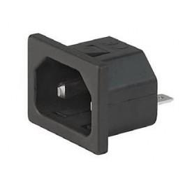 Prise IEC C18 10A 250V  ref. 6162-0037 Schurter