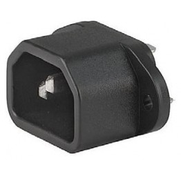 Prise IEC C14 10A 250V  ref. 6162-0040 Schurter