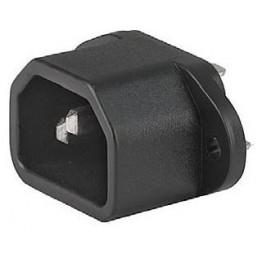 Prise IEC C14 10A 250V  ref. 6162-0043 Schurter