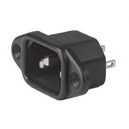 Prise IEC C14 10A 250V à vis ref. 6162-0060 Schurter