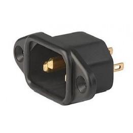 Prise IEC C14 10A 250V à vis ref. 6162-0083 Schurter