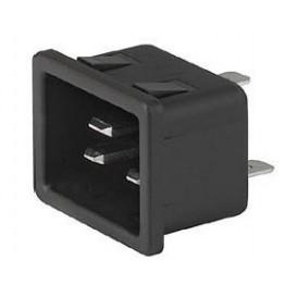 Prise IEC C20 16A 250V Snap ref. 6163-0013 Schurter