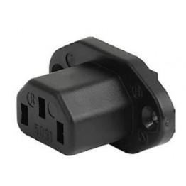 Fiche IEC F/H 10A 250V à vis ref. 6182-0008 Schurter