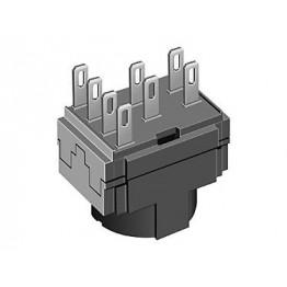 Bloc de contacts 2NC 250VAC 5A ref. 61845022 EAO secme