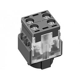 Bloc de contacts 2NC 250VAC 5A ref. 61875511 EAO secme