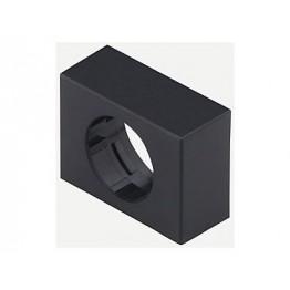 Cache plastique noir 24x30 mm ref. 6192300 EAO secme