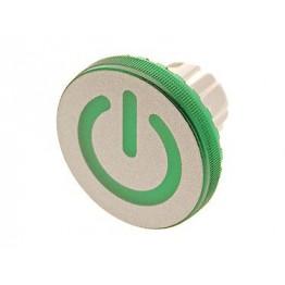 Calotte plastique diam 25 mm ref. 619643603 EAO secme