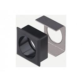 Cadre plastique noir ref. 6199300 EAO secme