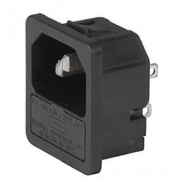 Prise IEC C14 10A 250V ref. 6205-4330 Schurter
