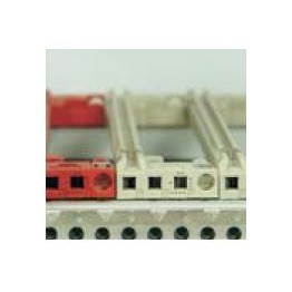 Guide carte rouge lg 160mm ref. 64560089 Schroff