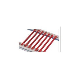 Guide-cartes rouge Lg 220mm ref. 64560146 Schroff