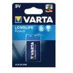Pile Alcaline 6LR61/9V(Blx1) ref. 6LR61B-HE Varta