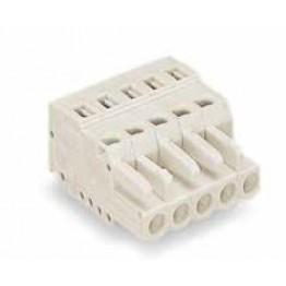 Connecteur femelle 2,5mm2 gris ref. 721-104/026-000 Wago