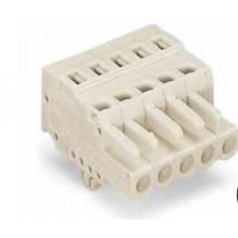 Connecteur femelle 2,5mm2 gris ref. 721-112/008-000 Wago