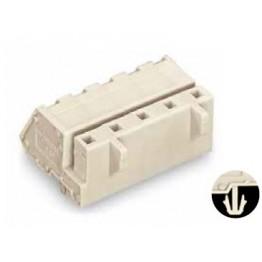 Connecteur femelle 2,5mm2 gris ref. 721-334/008-000 Wago